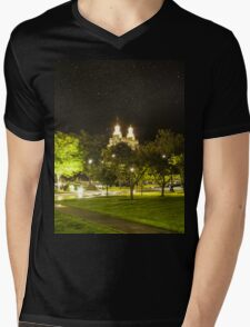 Landmark Nightlight  Mens V-Neck T-Shirt