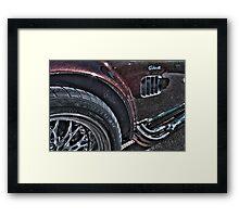 Shelby Cobra.  Framed Print