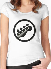 Black Bass Women's Fitted Scoop T-Shirt
