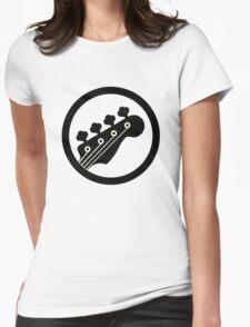 Black Bass Womens Fitted T-Shirt