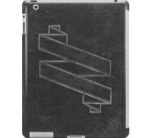 Vintage Black Embossed Book Cover iPad Case/Skin