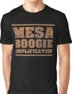 Rusty Mesa Boogie Amps Graphic T-Shirt