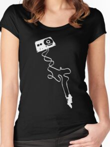 Swing To The Music Women's Fitted Scoop T-Shirt