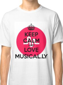 musically logo Classic T-Shirt