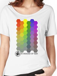 50 Shades of Gay Hex Style Women's Relaxed Fit T-Shirt