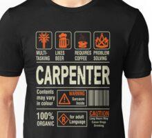 Carpenter - Caution Unisex T-Shirt