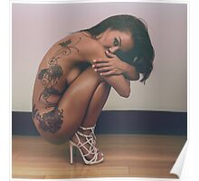 Tattoos & High Heels - Implied Nudes Poster