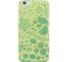 Summer Green Chamomiles iPhone Case/Skin
