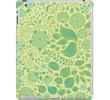 Summer Green Chamomiles iPad Case/Skin