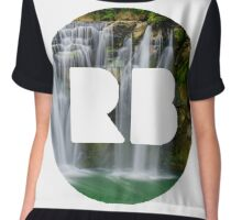 redbubble logo Chiffon Top