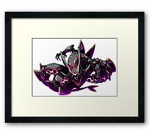 Pokemon : Shiny Rayquaza FanArt Framed Print
