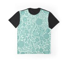 Spring Green Chamomiles Graphic T-Shirt