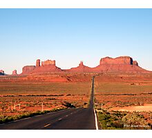 On  the road to Monument Valley. Look familiar? Photographic Print