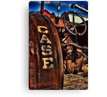 Case Antiquated Tractor Canvas Print