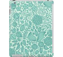 Spring Green Chamomiles iPad Case/Skin