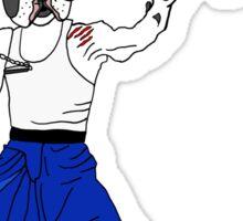 PAW POW - Kungfu Dog Sticker