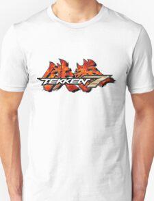 TEKKEN 7 LOGO WHITE Unisex T-Shirt
