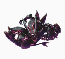 Pokemon : Shiny Rayquaza FanArt Kids Tee