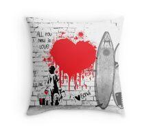 The Bondi Collection - Love Throw Pillow