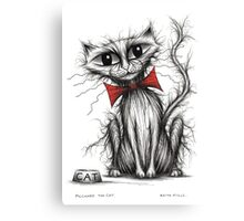 Pilchard the cat Canvas Print