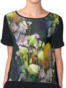 Spring Bouquet Chiffon Top