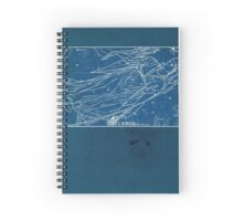 Vintage Constellation Virgo Stars Spiral Notebook