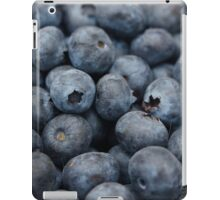 Bundles of blueberries iPad Case/Skin
