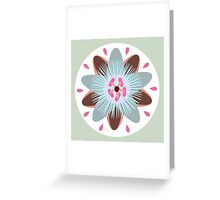 MCM Passionately Pale Greeting Card