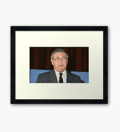 Sir Patrick Mayhew Framed Print