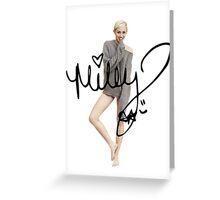 Miley Cyrus + Signature Greeting Card
