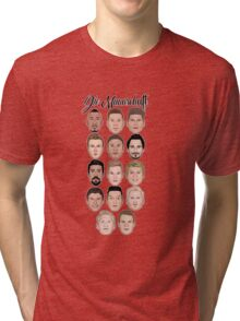 Die Mannschaft Tri-blend T-Shirt