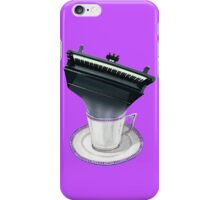 Music is Everyone's Cup of Tea -Grand Piano iPhone Case/Skin