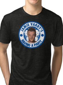 Jamie Vardy's having a party Tri-blend T-Shirt