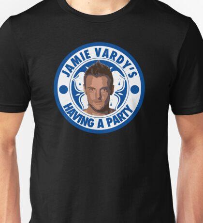 Jamie Vardy's having a party Unisex T-Shirt