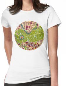 berlin - tiergarten Womens Fitted T-Shirt