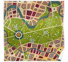 berlin - tiergarten Poster