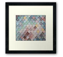 Urban Mosaic Framed Print