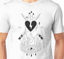 """BLKHRT: """"Heart in Hand"""" tee Unisex T-Shirt"""