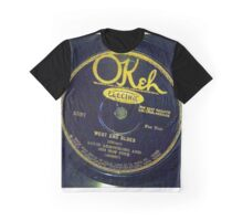 West End Blues - Louis Armstrong & His Hot Five, 1928 Okeh  78 label  Graphic T-Shirt