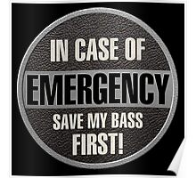 Save my bass Poster