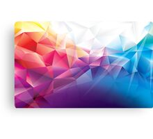 Multicoloured awesome pattern Canvas Print