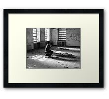 The Past is Dying Framed Print