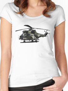 Puma Helicopter Women's Fitted Scoop T-Shirt