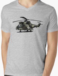 Puma Helicopter Mens V-Neck T-Shirt