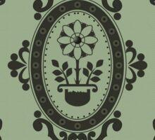 Barock Tapete Sticker