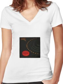I am Atari #4 Women's Fitted V-Neck T-Shirt