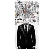 deconstructed mind iPhone Case/Skin
