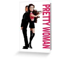 A Plastic World - Pretty Woman Greeting Card