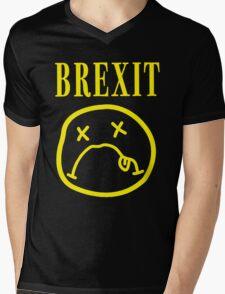 SADFACE GRUNGE BREXIT Mens V-Neck T-Shirt