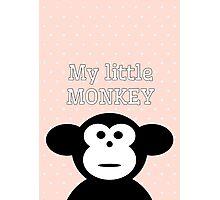 My Little Monkey Photographic Print